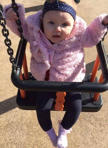 Maisie - saudável e feliz (Foto: Reprodução - Facebook)