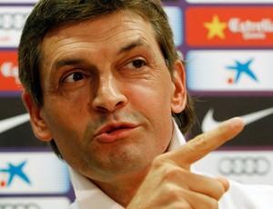 Tito Vilanova barcelona coletiva (Foto: Agência Reuters)