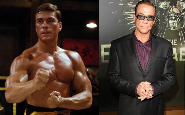 Jean-Claude Van Damme aos 28 anos, hoje ele tem 54 anos  (Foto: Getty Images/Divulgação)
