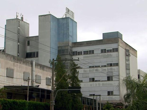 Hospital Mário Gatti, em Campinas, está em reforma desde dezembro (Foto: Reprodução / EPTV)