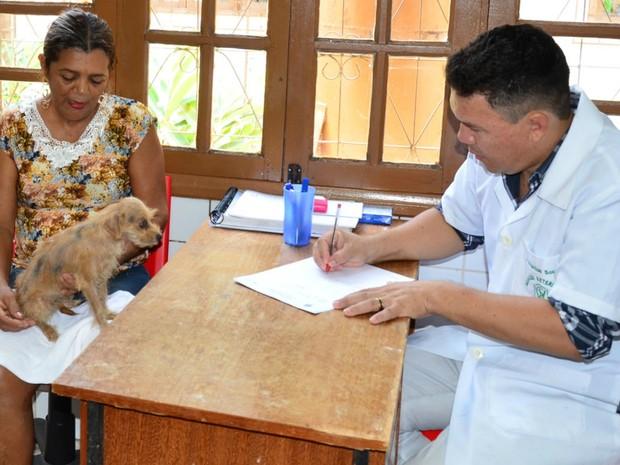 Centro de Zoonoses conosultas gratuitas (Foto: Divulgação)