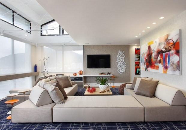 Sala De Estar Gloria Mercadolibre ~ 30 ambientes com despojamento carioca  Casa Vogue  Ambientes
