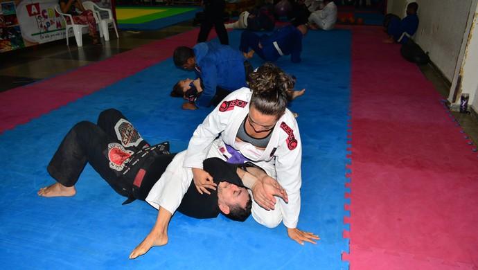 Duxley Luz, atleta do jiu-jítsu de RO (Foto: Ivanete Damasceno)