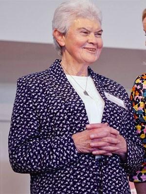 A  irmã Philomene Tiernan tinha 77 anos e era professora de um colégio católico só para meninas em Sidney, na Austrália (Foto: Divulgação/Kincoppal-Rose Bay School)