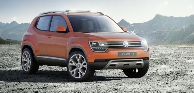 Volkswagen exibe Taigun no Salão de Nova Delhi (Foto: Divulgação)