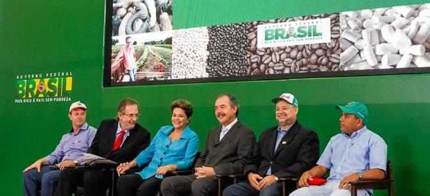 A presidente Dilma Rousseff, durante evento no Palácio do Planalto (Foto: Roberto Stuckert Filho/PR)