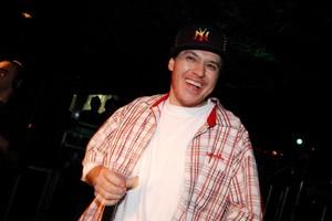 Chorao no aniversario de Marcos Mion em 2007 (Foto: Ro Trevisan/AgNews)