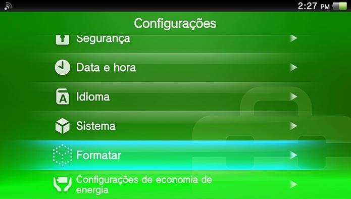 Selecione Formatar (Foto: Reprodução/Murilo Molina)