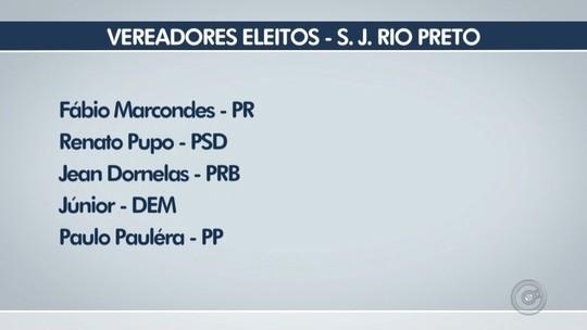 Veja os 17 vereadores eleitos em São José do Rio Preto