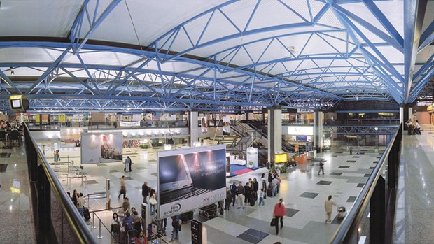 Aeroporto internacional Afonso Pena (Foto: Divulgação/Site oficial do Aeroporto Afonso Pena)