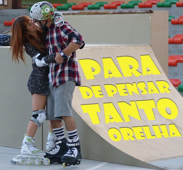 Para de pensar tanto, Orelha!! (Foto: Malhação / TV Globo)