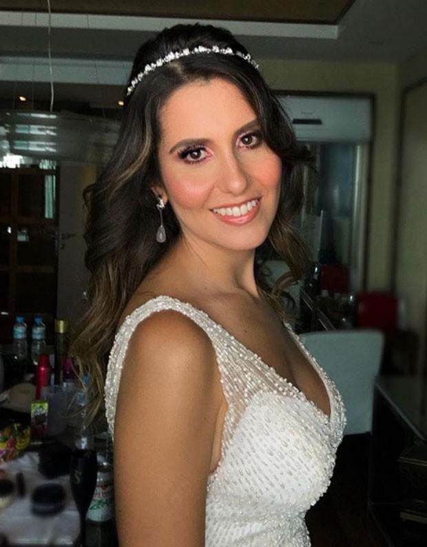 Nataly Mega pronta para o casamento (Foto: Reprodução Instagram)