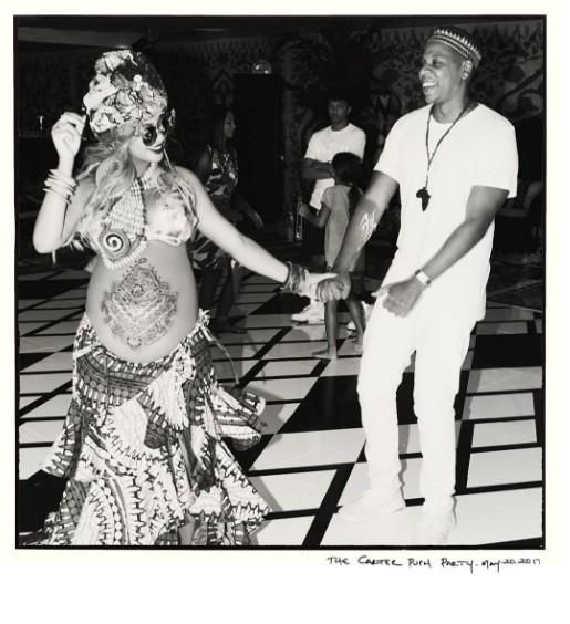 Beyoncé e o marido, Jay Z (Foto: Reprodução/Instagram)