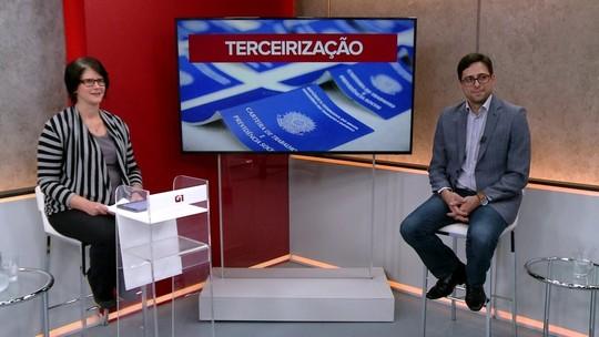 VÍDEO: especialista tira dúvidas de leitores do G1 sobre terceirização