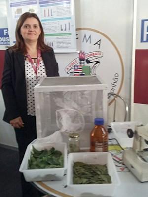 Prof. Dra. Adriana Câmara coordena as pesquisas (Foto: Arquivo Pessoal)