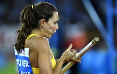 Fabiana Murer salto com vara Diamond League (Foto: EFE)