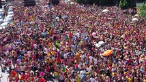 Carnaval reuniu mais de 2 milhões, diz PM (Reprodução/TV Globo)