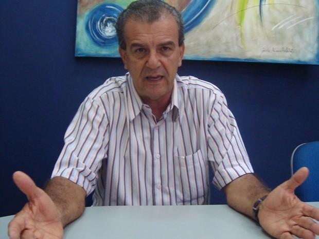 Dilador Borges é candidato do PSDB em Araçatuba (Foto: Marcos Lavezo / G1)