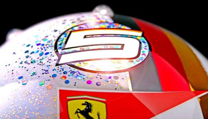 Capacete Sebastian Vettel Cingapura