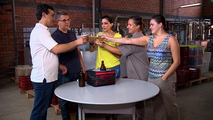 Mistura com Rodaika Inspiração cervejaria Cris Silva (Foto: Reprodução/RBS TV)