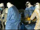 Paciente com suspeita de ebola chega ao Rio para exames na Fiocruz