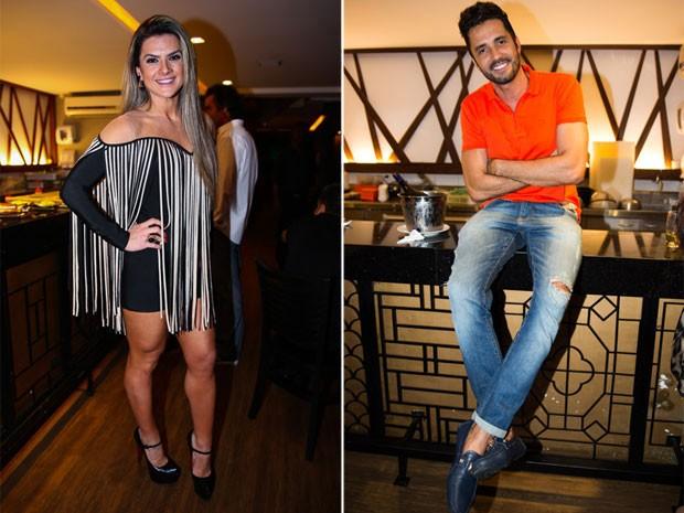 Mirella Santos e Latino em festa em São Paulo (Foto: Manuela Scarpa/ Brazil News)