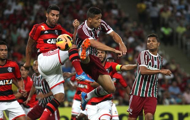 Samuel Flamengo x Fluminense (Foto: Nelson Perez / Flickr do Fluminense)