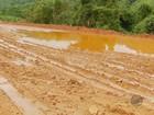 Motoristas sofrem com trecho de terra da BR-146 no Sul de Minas