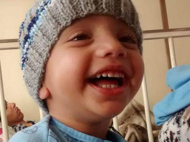 João Pedro completou três anos no domingo (28) (Foto: Avelita Barbosa da Silva/Arquivo pessoal)