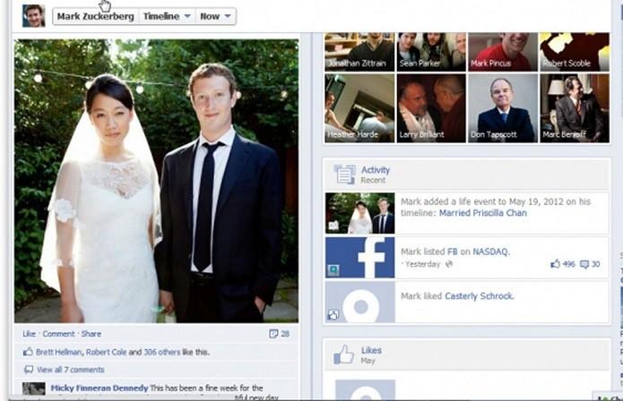 Mark introduziu eventos de vida com seu casamento (Foto: Divulgação/Facebook NewsRoom)