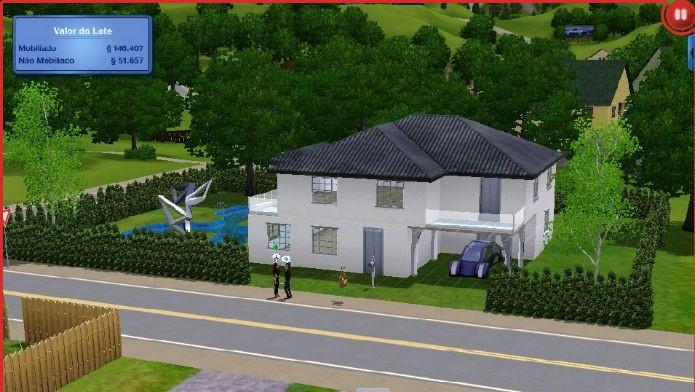 The sims 3 no futuro crie uma casa aproveitando os novos for Casas futuristas