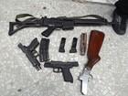 Polícia prende no RN grupo suspeito de assaltos a bancos no Maranhão