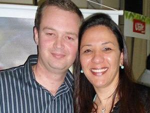 'Não consigo acreditar', diz mulher que perdeu noivo na porta da igreja (Foto: Arquivo Pessoal/Renata Rocha)