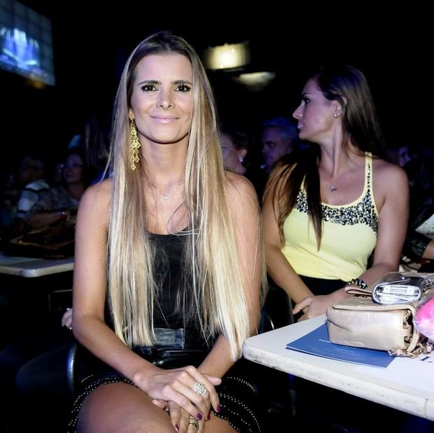 Flávia, mulher de Luciano (Foto: Francisco Cepeda/Ag News)