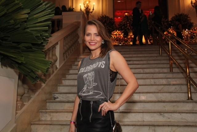 A bela Letícia Colin, que viverá a Imperatriz Leopoldina na próxima novela das 6, Novo Mundo (Foto: Ag News)