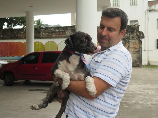 Marcelo é considerado o pai do 'Feliz'  (Foto: Rafaella Mendes/G1)