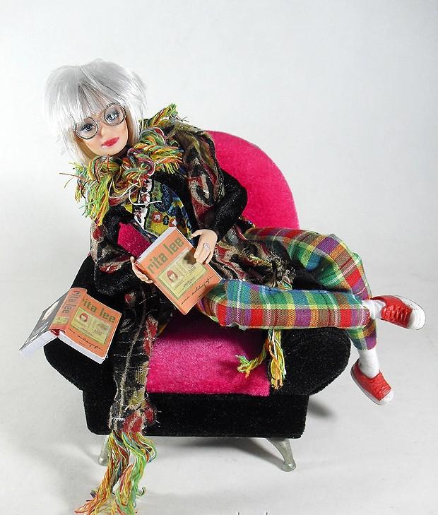 Boneca da cantora Rita Lee (Foto: Divulgação)
