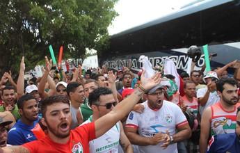 Salgueiro faz promoção de ingresso para a estreia no Brasileiro da Série C