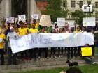 Brasileiros no exterior fazem atos em apoio a manifestações