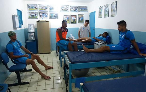 Departamento Médico do CSA tem novos pacientes (Foto: Bruno Felix/Divulgação CSA)