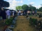 Enterrado garoto de 11 anos que caiu de 20º andar de prédio em Salvador