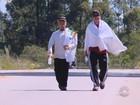 Por mais segurança, dois moradores do interior do RS caminharão 170 km