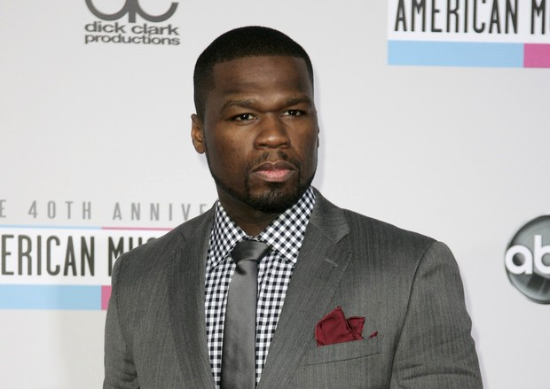 50 Cent em prêmio em Los Angeles, nos EUA (Foto: Jonathan Alcorn/ Reuters/ Agência)