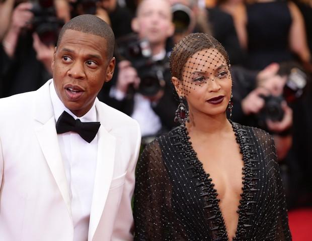 Jay Z e Beyoncé no Met Gala (Foto: Getty Images)