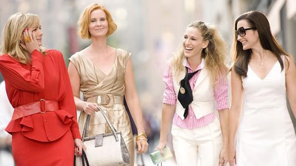 Samantha, Miranda, Carrie e Charlotte (Foto: Reprodução)