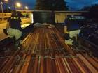 PRF apreende carga de madeira ilegal na rodovia BR-010, no sudeste do PA