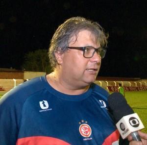 Técnico Luís Miguel, 4 de Julho  (Foto: TV Clube)