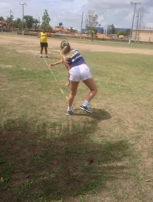 Seletiva no Amapá procura buscar novos talentos no paratletismo (Foto: Cassio Albuquerque/GE-AP)