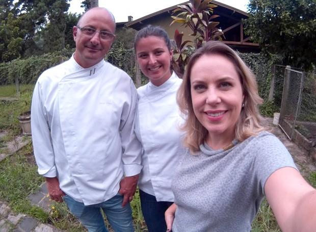 Também tem histórias da infância do chef Celso Freire, no Painel RPC, deste sábado (20) (Foto: Reprodução/ Arquivo Pessoal)