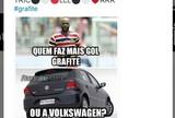 """De lapiseira a """"clones"""" no Cartola: veja os memes de Grafite nas redes sociais"""